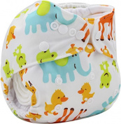 Cavalli Kids Baby Cloth Nappy Floral Cover Nappies Reusable