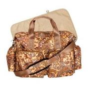 Elegant Paisley Style Nappy Bag