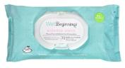 Well Beginnings Premium Baby Wipes Softpack, Scented 72 Ea
