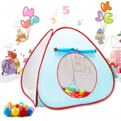 Voberry® Young Kids Tents / Play Tent Portable Folding Ocean Ball Pool with 50 Balls