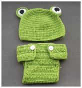 Aistore Baby Newborn Photography Prop Baby Handmade Crochet Knitted Costume Hat Set 029