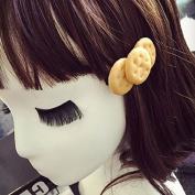 Velishy(TM) Kids Cartoon Biscuit Hair Clip
