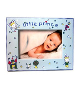 Bonita Home Little Prince Blue 4x6 Picture Frame w/glass
