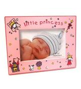 Bonita Home Little Princess Pink 4x6 Picture Frame w/glass