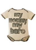Trooper Clothing Army My Mommy My Hero Embroidered Onesie