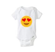 Heart Emoji Funny Baby Onesie