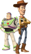 WOODY & BUZZ Toy Story Decal WALL STICKER Decor Art Kids C529 , Large