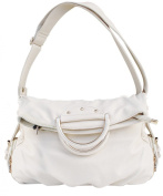 Peach Couture Classic Versatile Large Fold-over Satchel Handbag Shoulder Bag
