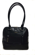 Tignanello Bowery Dome Satchel Black