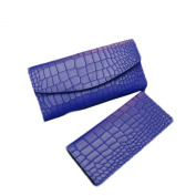GBSELL New Women Crocodile Pattern Leather Clutch Long Wallet Card Holder