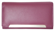 Women's Violet Genuine Leather Wallet Tillberg