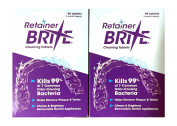 Retainer Brite Cleaning Tablets - 192 Tablet Pack - 6 Months Supply