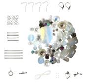 Opalite ~ Clear AB Bead Set