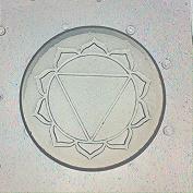 Flexible Resin Mould Solar Plexus Chakra 5.1cm x 0.6cm Deep
