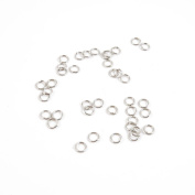Price per Lot 9350 PCS Jewellery Making Charms Antique Silver Tone Colour Jewellery Charme Findingss Bulk Wholesale Suppliers Arts Crafts X5GN3 Jump Ring 5mm