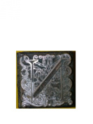 "Emco Metal Stamp ""N"" for Sealing Wax Mediaeval Floral Paisley Design 2.2cm x 2.2cm"
