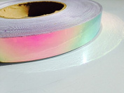 4.6m Roll of 1.9cm Watermelon Haze Colour Shifting Metallic Hula Hoop Tape