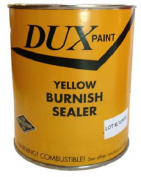 DUX Yellow Ochre Burnish Sealer For Gilding