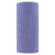 Tulle Spool - 25 Yards - 15cm Width. Lilac Sparkle