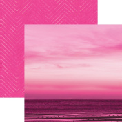 Paper House Productions P-3094E Flamingo Sunset Papers, 30cm Colorways double Sided