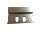 Frameware PB422-5.1cm - 5.1cm Heavy Duty Aluminium Cleat with screws and anchors - pack of 10