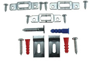 Frameware PBS13 - Security Hardware for Wood Frames - pack of 10 w/ free wrench