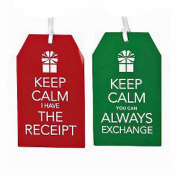 Set of (2) Spritz Message Gift Tags Assorted 10 Ct