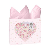 CR Gibson Little Love Large Embellished Gift Bag Pink