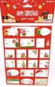 Christmas Gift Tags,Peel & Stick