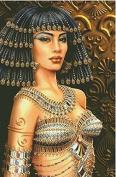 Cleopatra series 2, Cross Stitch Kits,egypt Cotton,14ct, 54*80cm 250*382 stitch Counted Cross Stitch Kit