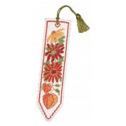 Textile Heritage Counted Cross Stitch Bookmark Kit - Autumn