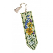Textile Heritage Counted Cross Stitch Bookmark Kit - Spring