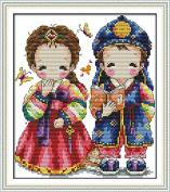 Beverly Stamped Cross Stitch Kits Korean Wedding 8