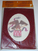 Drum & Eagle Needlepoint Calico Kit