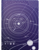 Cognitive Surplus Hardcover Vintage Solar System Sketchbook