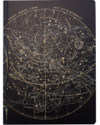 Cognitive Surplus Hardcover Vintage Astronomy Star Chart Sketchbook