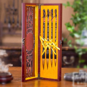 Authentic Calligraphy Brush Set High-grade Wolf Shanlian Hubi Painting Pen 4-Piece