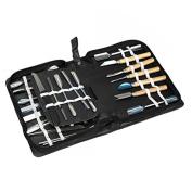 Culinary Carving Tool Set 46 Piece Fruit/vegetable Garnishing/cutting/slicing Set Garnish Kitchen Tool Set