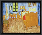 DIY PBN-paint by numbers famous painting Bedroom in Arles by Van gogh 41cm by 50cm Frameless.