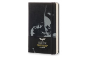 Moleskine 2017 Batman Limited Edition Daily Planner, 12m, Large, Black, Hard Cover
