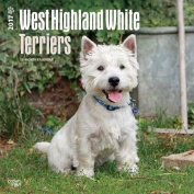 West Highland White Terriers 2017 Square