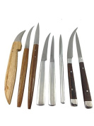 8pc Knife set Vegetable Food Fruit Carving Collection Knives Art Soap Steel Stainless