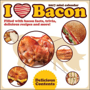 I Love Bacon 2017 Mini Calendar