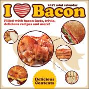 I Love Bacon 2017 Mini Calendar