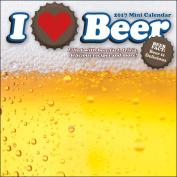 I Love Beer 2017 Mini Calendar