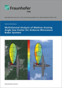 Multichannel Analysis of Medium Grazing Angle Sea Clutter for Airborne Microwave Radar Systems