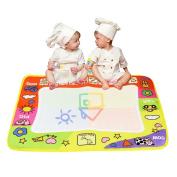 FUA Children Kids Classic Aquadoodle Mat/Pen Aqua draw Water Drawing/Toy Game/Play 1 Mat+ 2 Wate