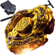 L-Drago Destructor Destroy Gold Armoured Beyblade STARTER SET w/ Launcher Ripcord