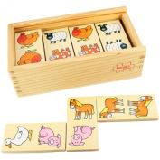 Bigjigs Toys Farm Dominoes