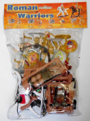 1/32 Roman / Greek Warriors & Armour Figure Playset - Sunjade - 1/32 Scale Plastic Toy Soldiers set.